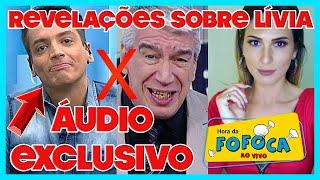"""🔥Áudio: Léo Dias comenta """"cala boca"""" de Décio e revela que não é mais íntimo de Livia Andrade"""