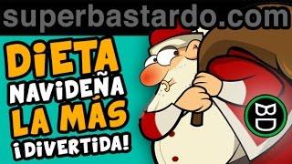 FELIZ NAVIDAD [ Dieta Navideña  ] Tarjetas Navidad | Videos Divertidos - Deseos | Postales