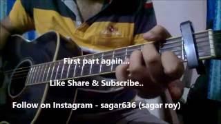 MAIN HU TU HO Guitar Lesson | Days Of Tafree | Arijit Singh
