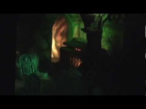 In het Spookhuis van de Efteling