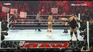 WWE RAW 03/28/11 Edge and Christian vs DelRio and Brodus