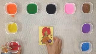 Trò Chơi Trẻ Em Bé Su Tô Màu Tranh Cát Công Chúa Xinh Đẹp - ToysReview - BB Channel