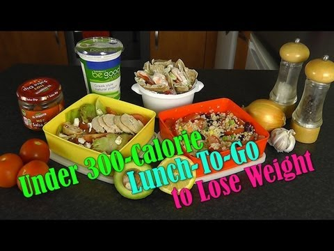 Under 300 Calorie Lunch-To-Go (Weight Loss Recipes)