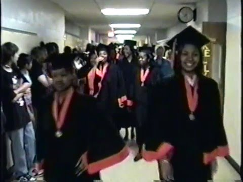 Belleville High School class of 2008 Senior walk