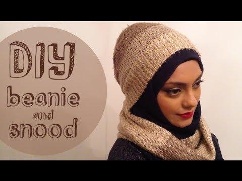 DIY Beanie and Snood │ Hijab Friendly