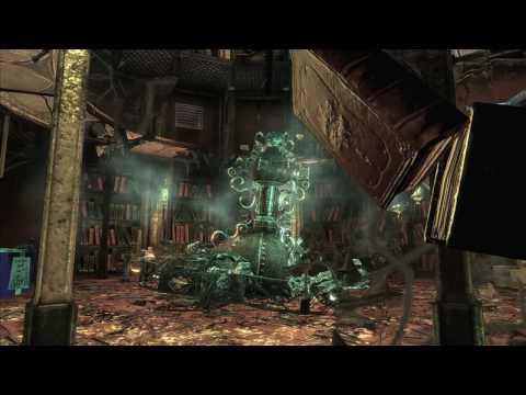 New BATMAN: ARKHAM ASYLUM PhysX NVIDIA HD Trailer of The Video Game