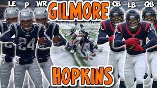 Team of DEANDRE HOPKINS vs Team of STEPHON GILMORE'S!! (Best Player Tournament!)