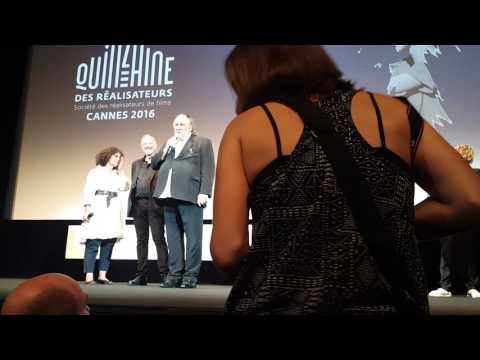 """Gérard Depardieu présente """"Tour de France"""" à la Quinzaine des Réalisateurs 2016"""