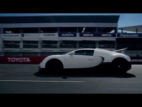 Bugatti Veyron 1000HP Fuji Speedway Attack! - Grand Sport Super Cars モーターヘッド