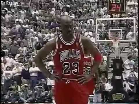 1997 NBA Finals Game 5- The Flu Game - YouTube