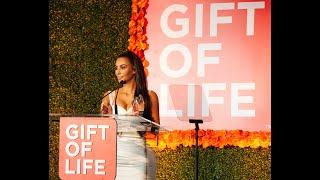 Kim Kardashian West honored with Gift of Life Impact Award