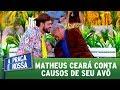Matheus Ceará conta causos de seu avô | A Praça é Nossa (28/09/17)