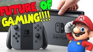 FUTURE OF GAMING is Here! Nintendo Switch Reveal