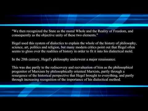 The Hegelian Dialectic and The Third Wave Synthesis part 1