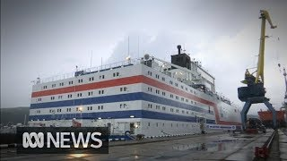World's first floating nuclear power plant heads to Siberia, environmentalists alarmed | ABC News