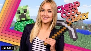 The Minecraft Episode Feat. LEGO Minecraft & A Real-Life Minecraft World! - Cheap Cool Crazy