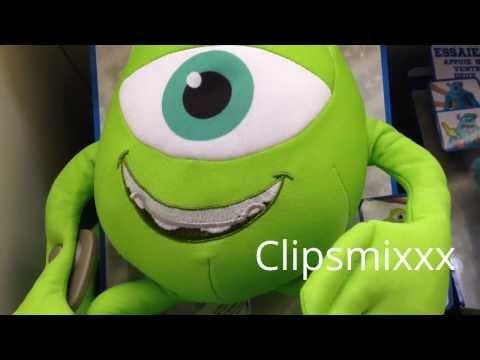 Monsters University Kids Toy speaks french ????? ????? ?????? ??????????