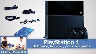 Playstation 4: Unboxing y Análisis Primeros Pasos (en Español)