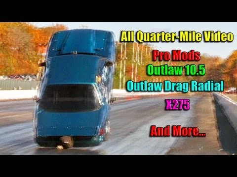 Small Tire & Pro Mod Quarter Mile Video Compilation