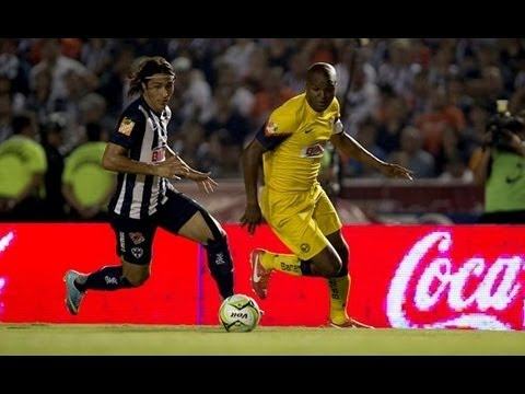 Monterrey vs America 2-2  SEMIFINAL De Ida 2013