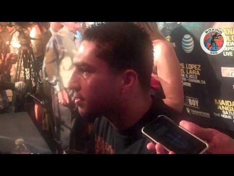 Boxing 360 - Josesito Lopez discusses upcoming with Marcos Maidana Part 1