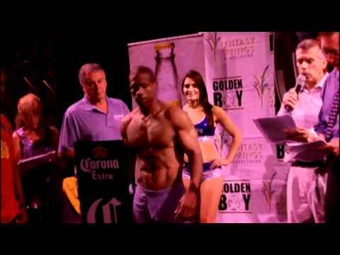 Exclusive weigh-in video: Cornelius Bundrage-Cory Spinks II goes down Saturday, June 30th
