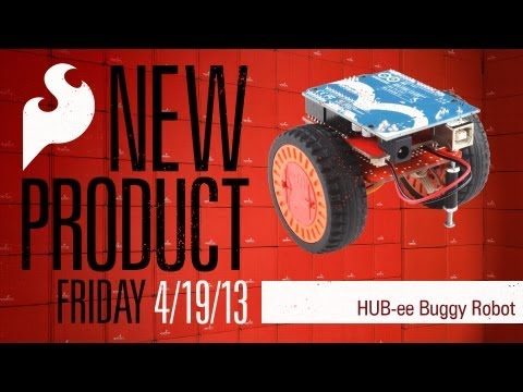SparkFun 4-19-13 Product Showcase: HUB-ee Buggy Robot