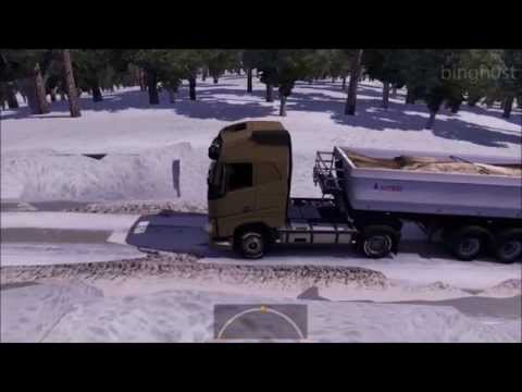 ETS2 Truckers Map R goba6372 GAMEPLAY (Euro Truck Simulator 2)