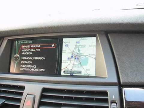 Česká navigace a MENU BMW X6 xDrive 30d 235PS - koupeno v CZ ID7862 www.malovany.cz