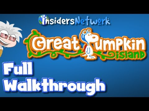 ★ Poptropica: Great Pumpkin Island Full Walkthrough ★