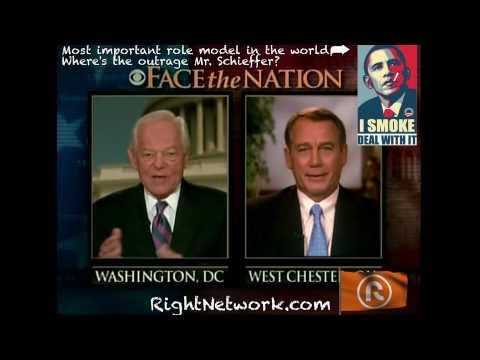 Bob Scheiffer Grills John Boehner on His Smoking