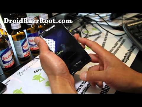 How to Reset to Factory and Get Into Fastboot Menus on Droid Razr!