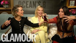 Sarah Paulson Shows Off Her Hilarious Sandra Bullock Impression | GLAMOUR UK