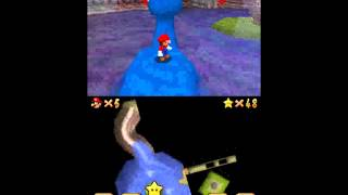 Let's Play Super Mario 64 DS Swimming Beast in the Cavern