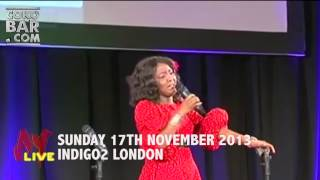 HELEN PAUL - AY LIVE COMEDY SHOW UK 2013 - SPECIAL LIVE PERFORMANCE FROM SIR SHINA PETERS.