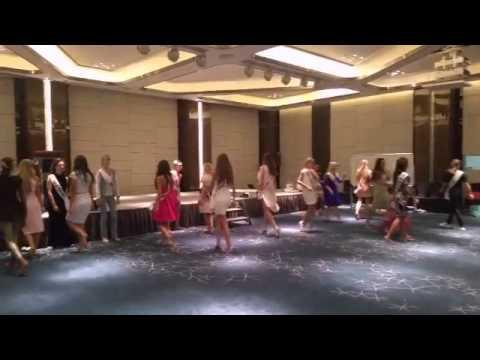 Mrs Globe 2015 -  Rehersals & Rehersals