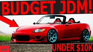 CHEAP Japanese Sports Cars UNDER 10K