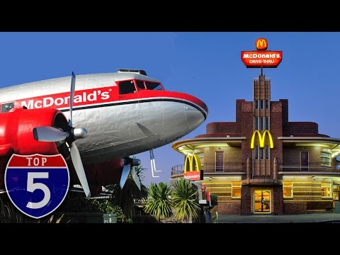 Top 5 Strange McDonald's Locations