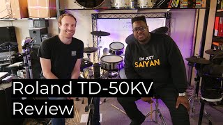 The Mighty Roland TD-50KV Review and Demo - Drumshack London
