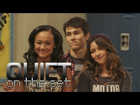 Cast of Nickelodeon's HOW TO ROCK Explain the Concept - QUIET ON THE SET (Part 2 of 3)