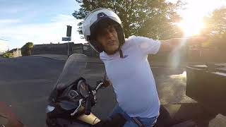 TENTARAM ROUBAR A MINHA MOTO EM PLENA LUZ DO DIA COMIGO E MINHA MULHER | MOTO filmadores UK