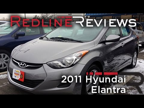 2011 Hyundai Elantra Review. Walkaround. Exhaust. Test Drive
