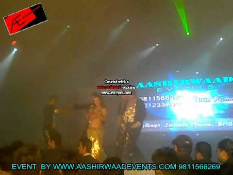 Russian Belly Dancer On Stage In Agra By Aashirwaadevents Ph :- 9811566269 video