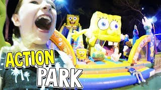 ACTION im SPONGEBOB Land 💛 Lulu und Leon - Family & Fun