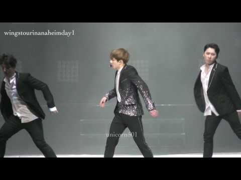 170401 BTS Anaheim day1 JUNGKOOK solo BEGIN