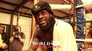 WBC Heavyweight King Deontay Wilder scathing warning to Dominic Brezeale