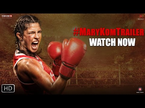 Mary Kom - Official Trailer | Priyanka Chopra in & as Mary Kom | In Cinemas NOW