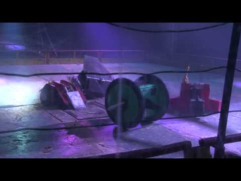 Robot Wars Maidstone 2014 – Saint vs Eruption vs Rattler vs Gravity vs Thor