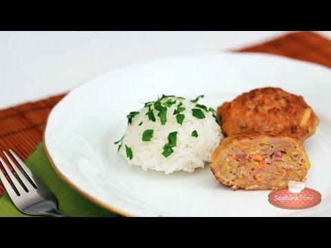 Vendégváró húspogácsa videó recept