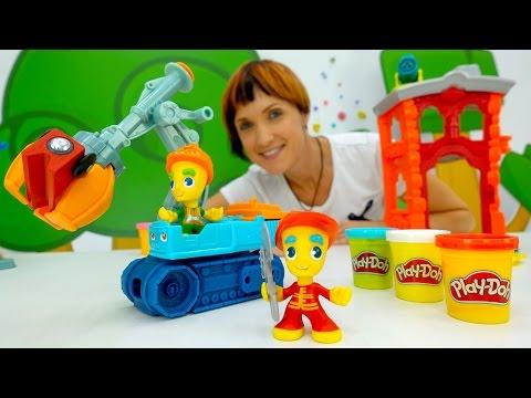 PLAY DOH видео для детей. Капуки Кануки Веселая Школа. Цифры для детей и развивающие игры